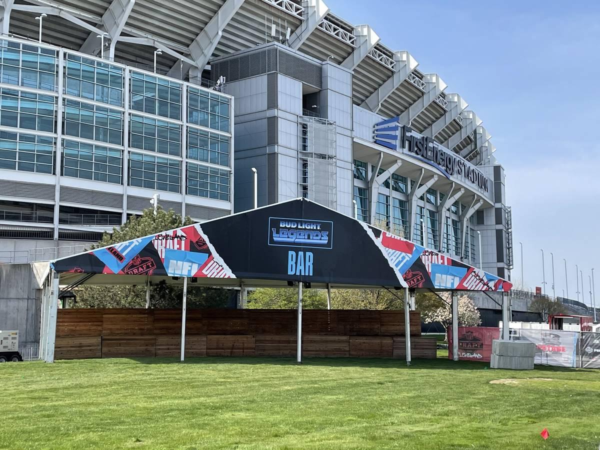 Cleveland se prepara para presentar el draft de la NFL de esta semana. (Sam Gordon/Las Vegas Re ...