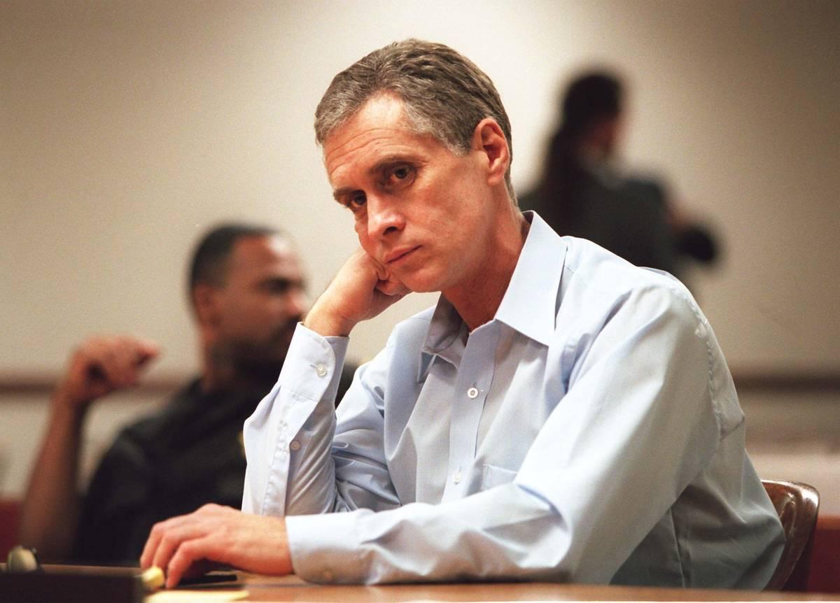 Patrick McKenna en el tribunal en septiembre de 1996. (Foto de Jim Laurie)