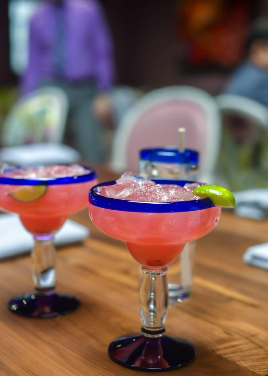 Margaritas en Mariposa. (Mariposa Cocina & Cocktails)