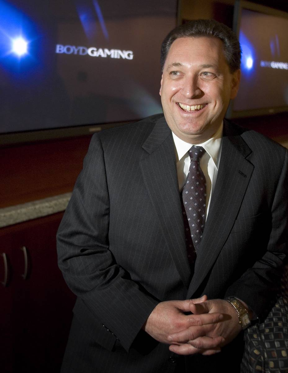 El director de Boyd Gaming Corp., Keith Smith, el 17 de febrero de 2005. Las Vegas Review-Journ ...