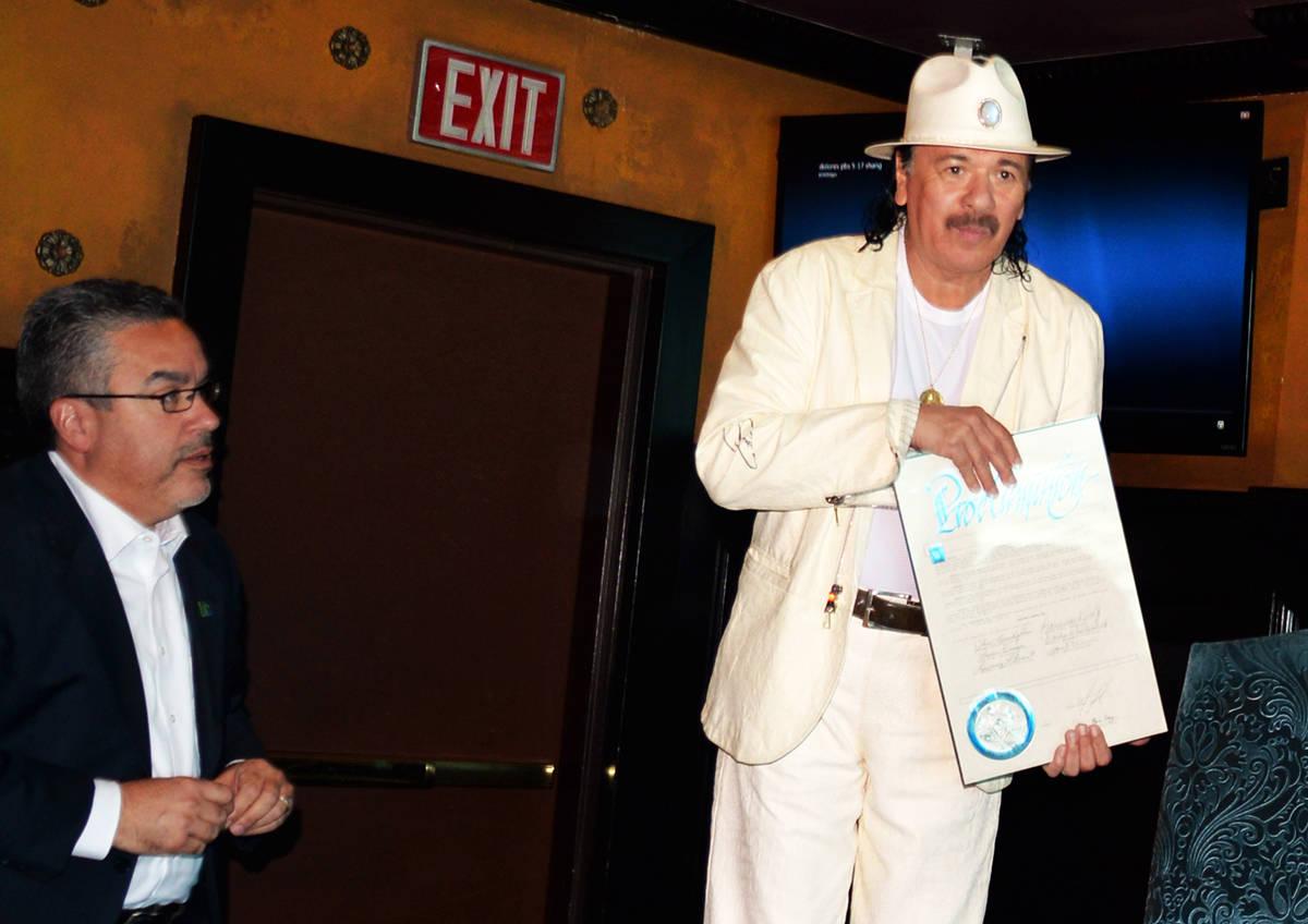 An Intimate Evening with Santana: Greatest Hits Live, llevaba 9 años ininterrupidos de present ...
