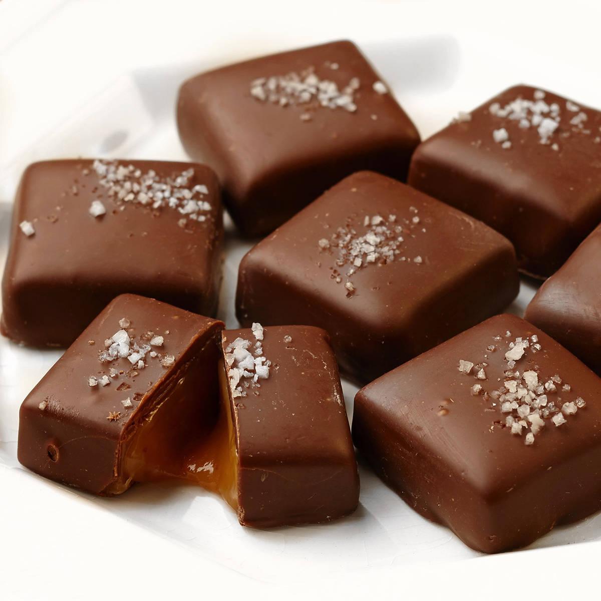 """Algunos de los chocolates dentro de la tienda de """"Ethel M Chocolates"""" en Henderson. [Foto c ..."""