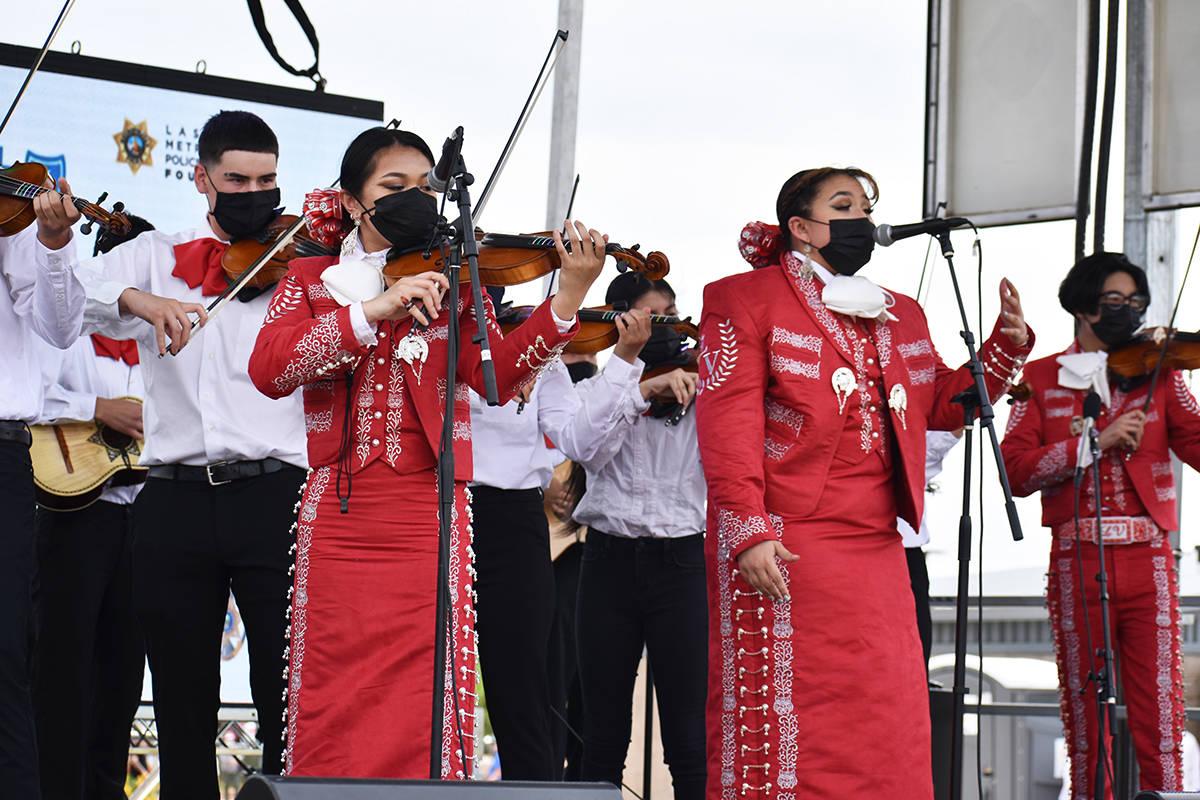 La celebración oficial por el Cinco de Mayo contó con diversas atracciones para toda la famil ...