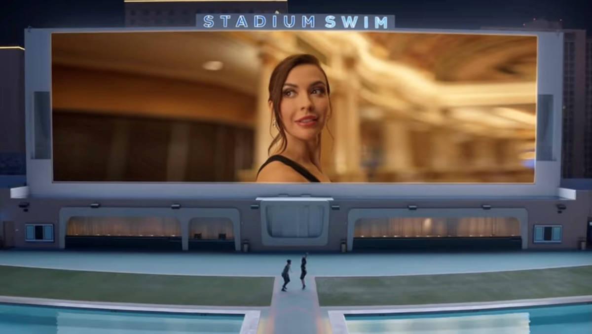 """""""Vegas You"""", anuncio publicitario donde invitan a los visitantes a vivir el momento. [Foto ..."""