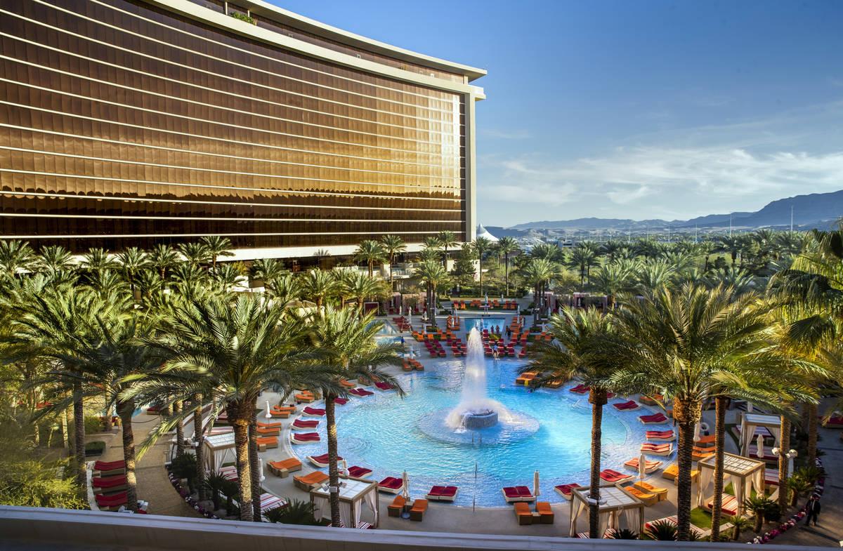 Esta foto de archivo del 12 de abril de 2021 muestra el Red Rock Resort. (L.E. Baskow/Las Vegas ...