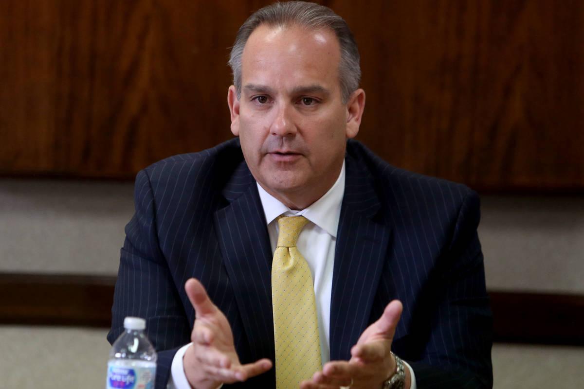 El superintendente del Distrito Escolar del Condado Clark, Jesús Jara (Las Vegas Review-Journal).