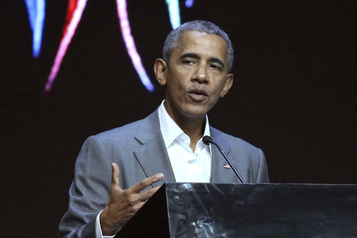 Expresidente Barack Obama. (AP Photo)