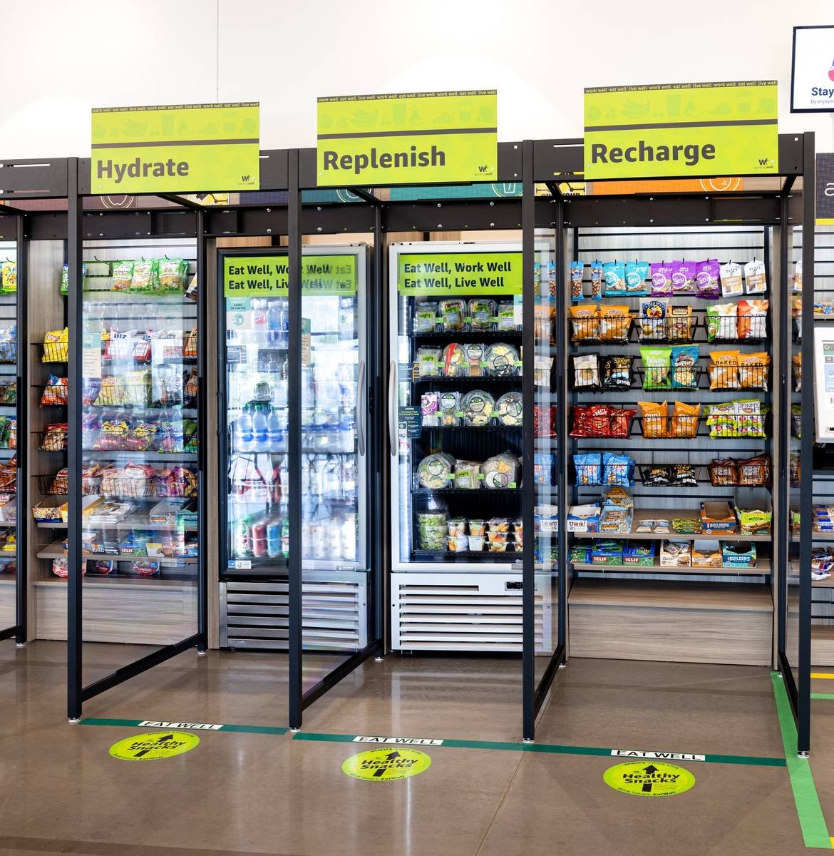 La nueva iniciativa WorkingWell de Amazon incluye el acceso a opciones de alimentación saludab ...