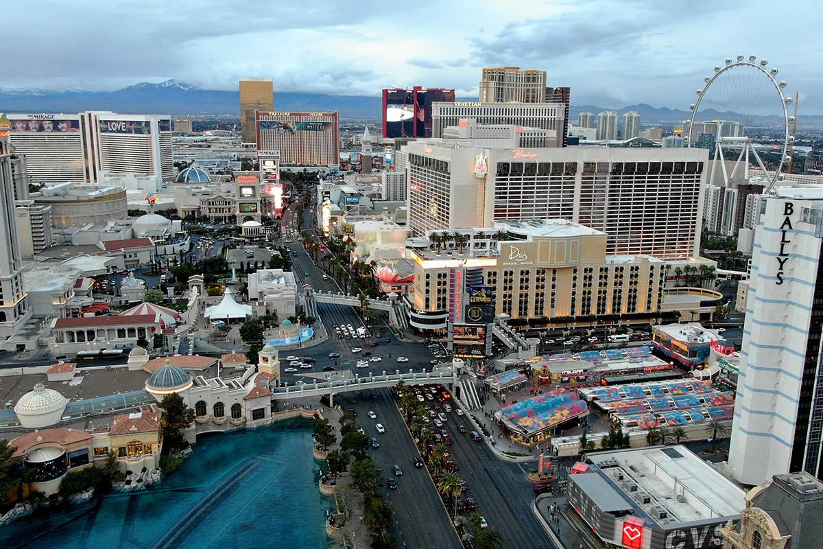 El comité de marketing de la Autoridad de Convenciones y Visitantes de Las Vegas, compuesto po ...