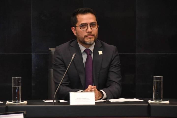 Fotografía de archivo de Mauricio Huesca, consejero electoral a cargo de la Comisión del Voto ...