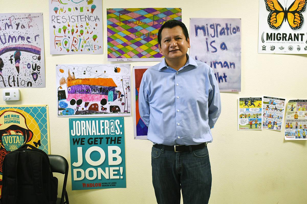 José Tolentino es organizador comunitario y encargado de Comunicación Social en Arriba Las Ve ...