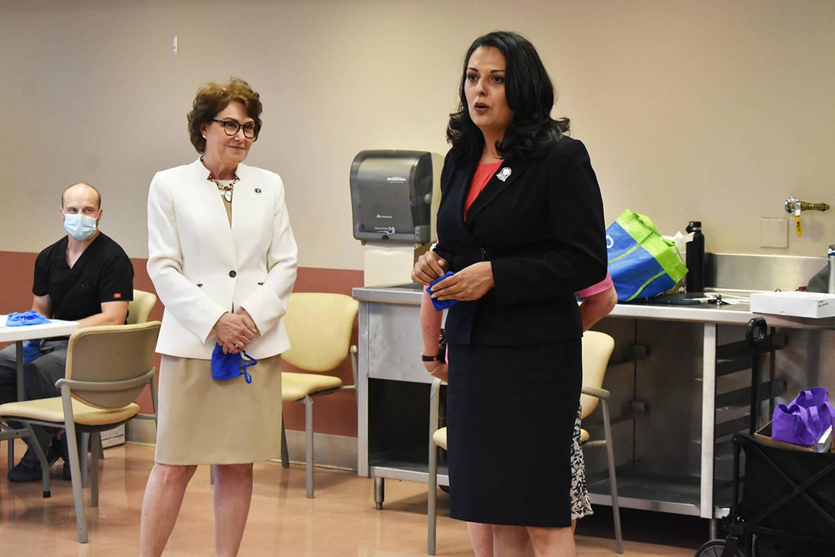 La concejal Olivia Díaz recordó que las zonas con altos índices de vacunación, están regis ...