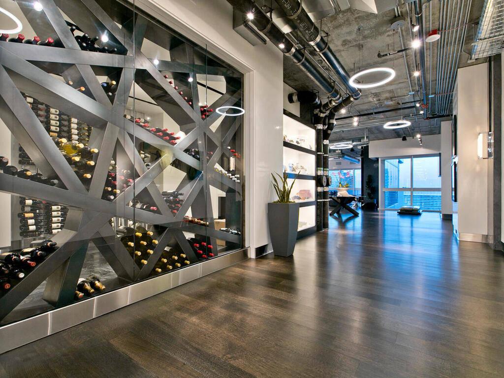 El penthouse tiene un diseño moderno. (Elite Realty)