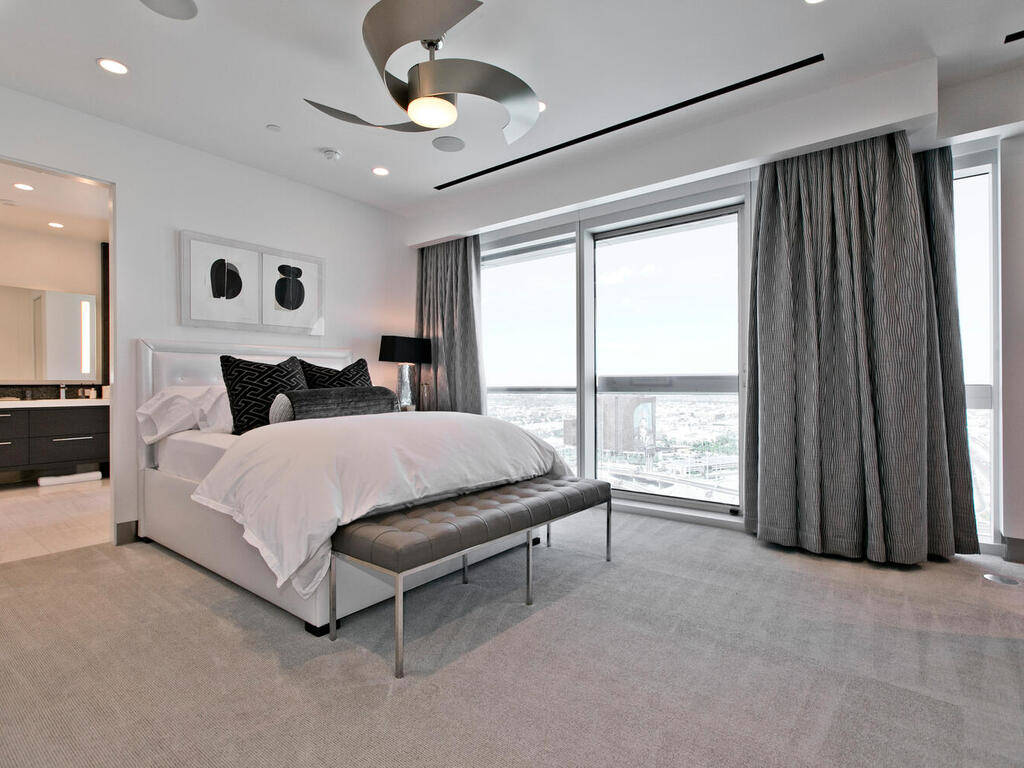 El penthouse tiene dos dormitorios principales. (Elite Realty)