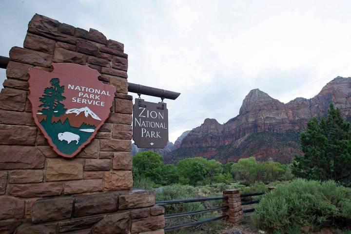 Una foto de archivo del 15 de septiembre de 2015, muestra el Zion National Park cerca de Spring ...