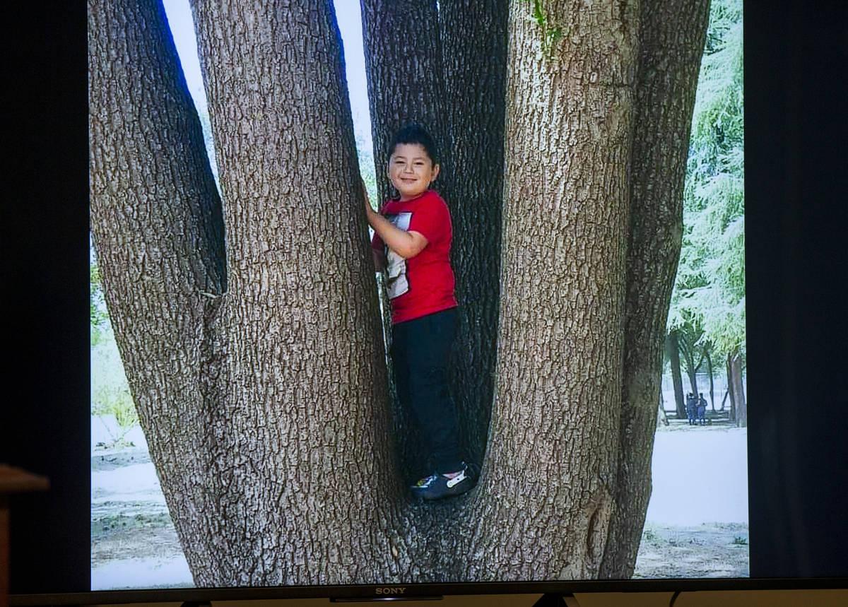 Foto policial de Liam Husted, identificado como el niño asesinado el lunes, 7 de junio de 2021 ...
