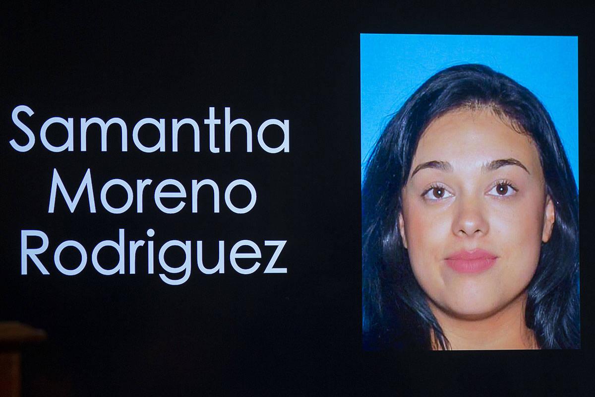 Foto de Samantha Moreno Rodríguez facilitada por la policía de Las Vegas. (L.E. Baskow/Las Ve ...