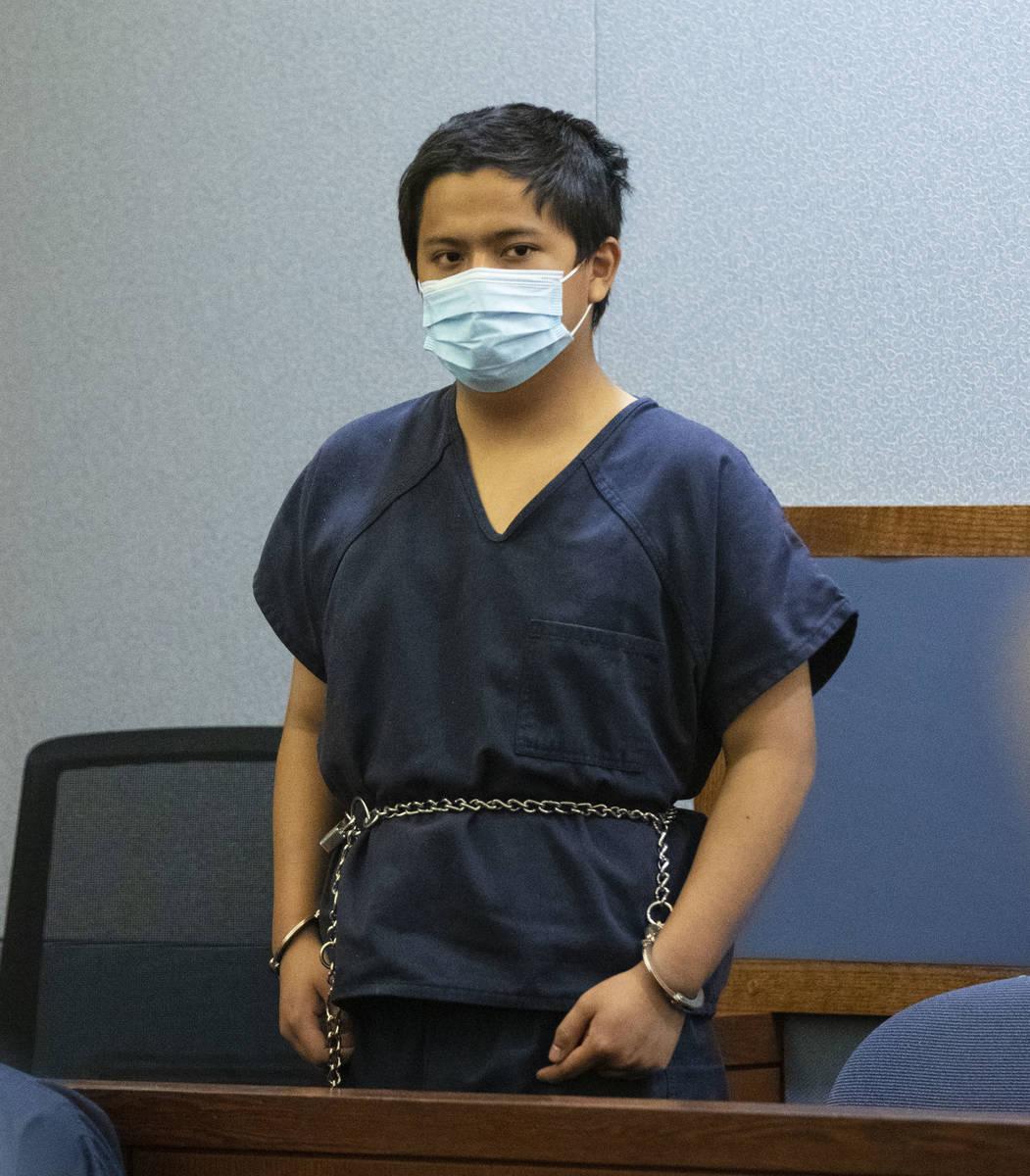 Aaron Guerrero, acusado del asesinato de Daniel Halseth, comparece en el tribunal del Centro Re ...