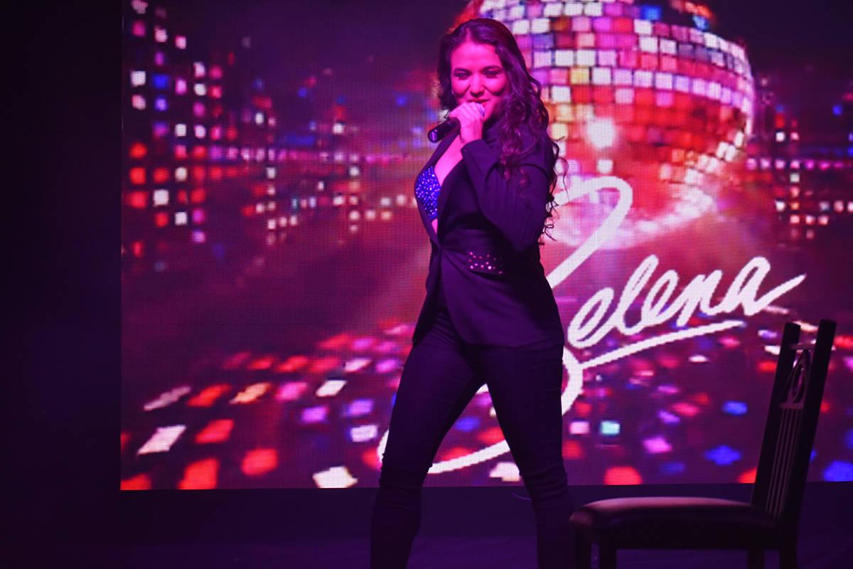 Tras la pandemia, la cantante Cynthia Ríos regresó al escenario para protagonizar un conciert ...