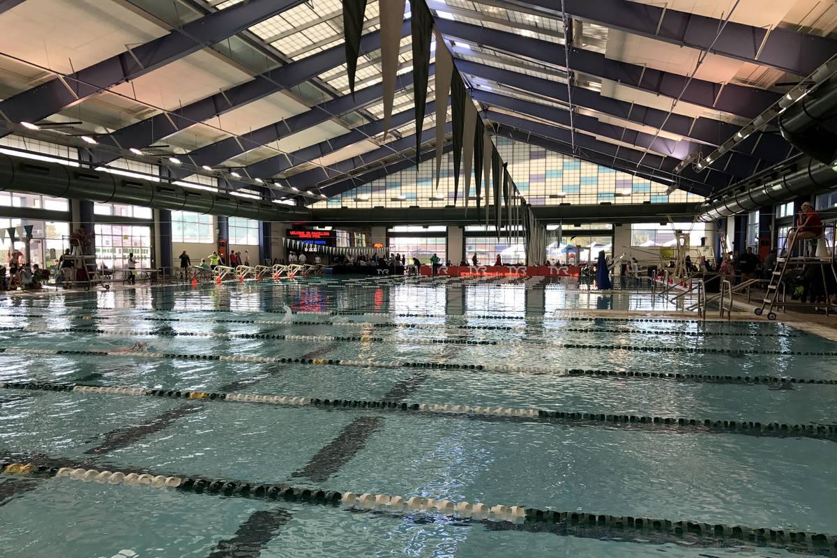 El interior de la Pavilion Center Pool de Summerlin en 2017. (Las Vegas Review-Journal)