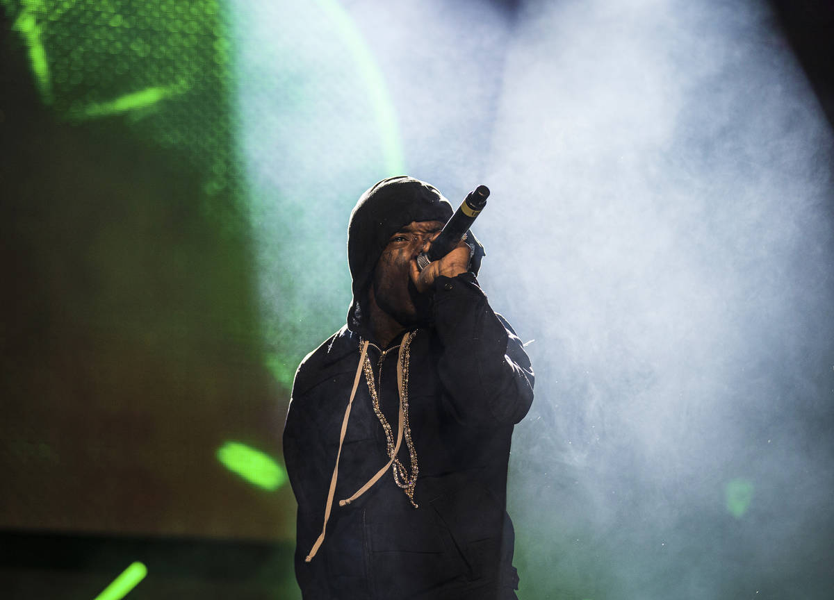 Lil Uzi Vert volverá a tocar en Day N Vegas 2021. (Benjamin Hager/Las Vegas Review-Journal) @b ...