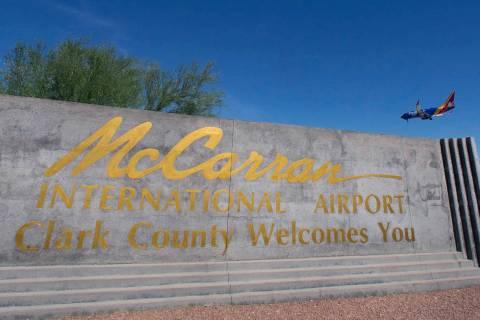 McCarran International Airport. (Bizuayehu Tesfaye/Las Vegas Review-Journal)