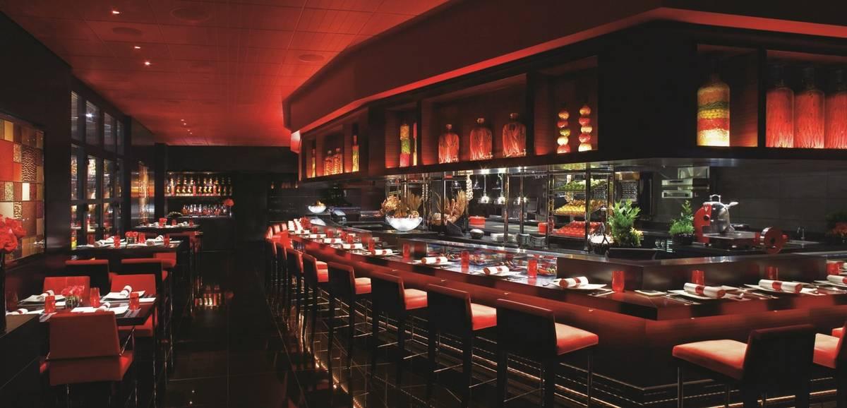El interior de L'Atelier Joel Robuchon, con cocina abierta. (MGM Resorts International)