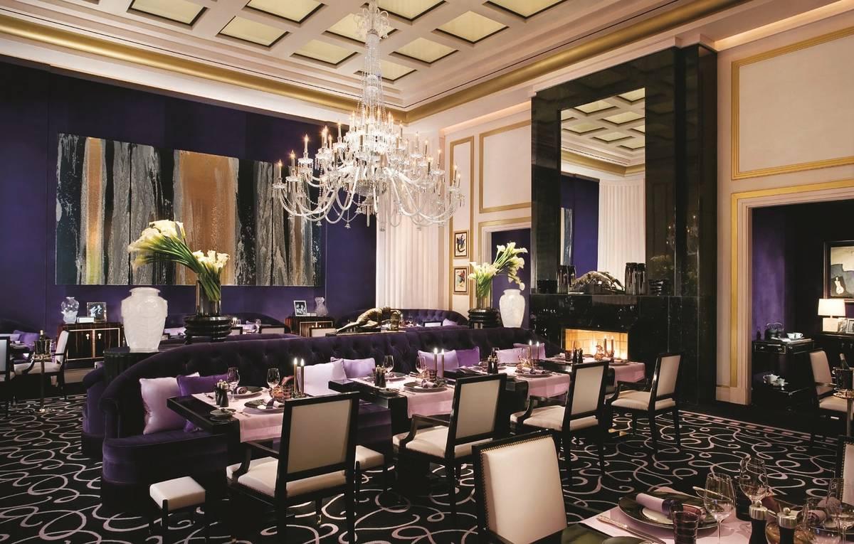 El interior de Joel Robuchon en MGM Grand. (MGM Resorts International)
