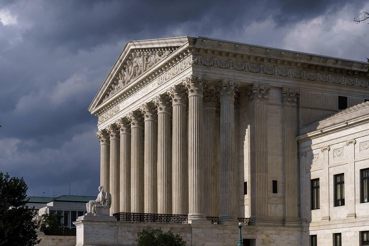 En esta foto del 8 de junio de 2021, se ve el Tribunal Supremo en Washington. (AP Photo/J. Scot ...