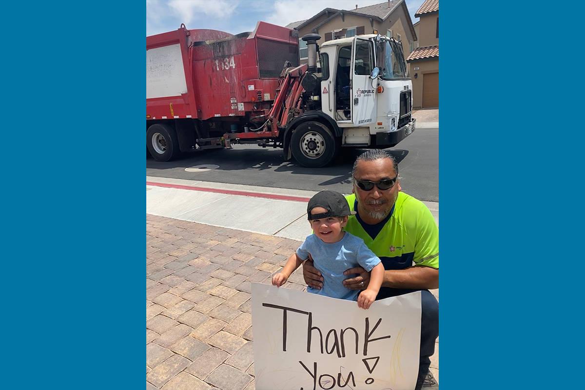 La Semana de los Trabajadores de Desechos y Reciclaje es un gran momento para mostrar su agrade ...