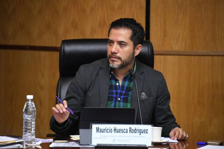 """Durante la mesa titulada """"La Jornada Electoral"""", el consejero electoral, Mauricio Huesca Ro ..."""