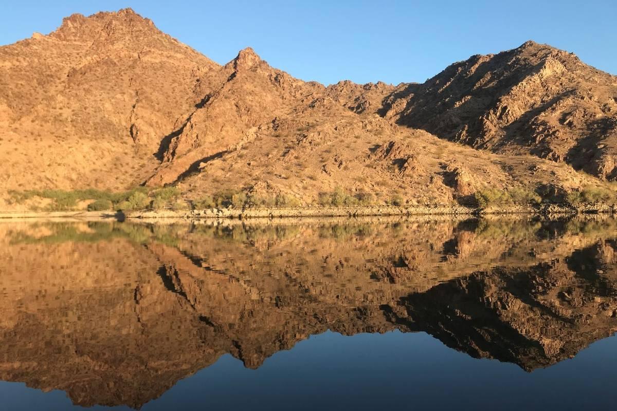 Lago Mohave (Las Vegas Review-Journal).