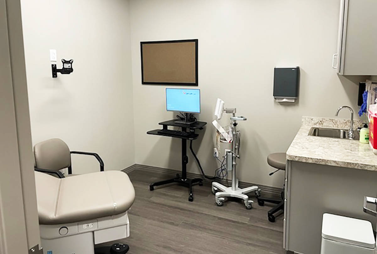Fotografía de archivo de un centro de infusión y atención oncológica del USMD abierto para ...