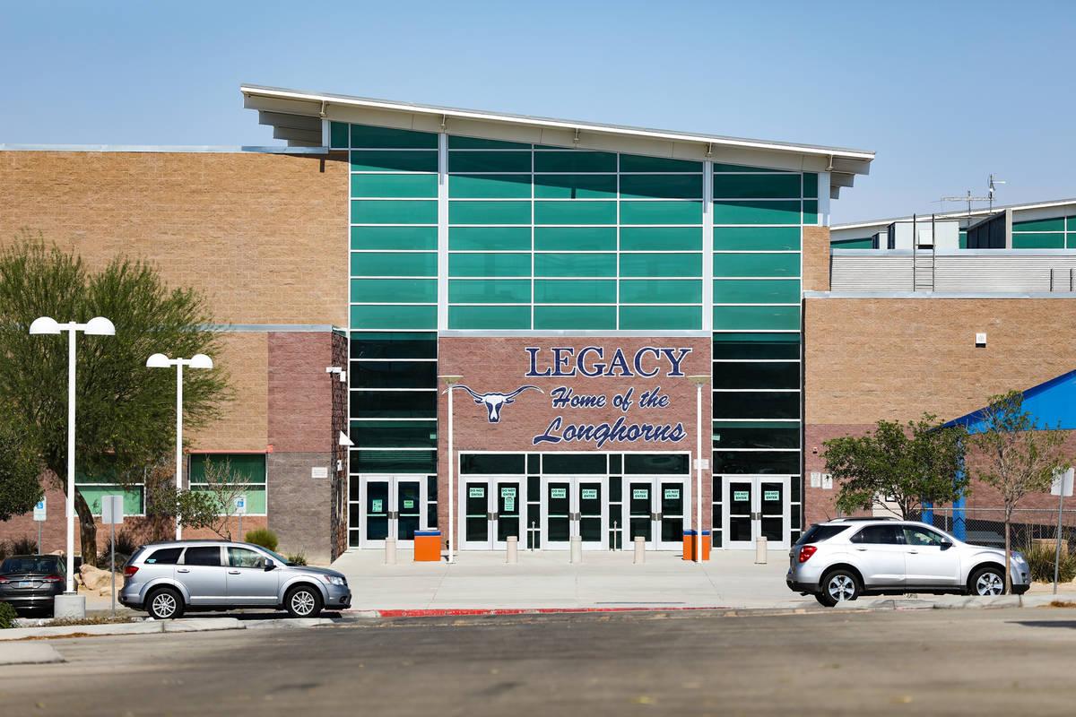 Legacy High School en North Las Vegas el miércoles 30 de junio de 2021. (Rachel Aston/Las Vega ...