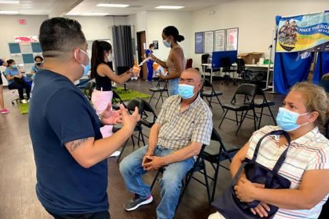 Immunize Nevada y Make The Road Nevada realizaron una nueva clínica emergente de vacunación d ...