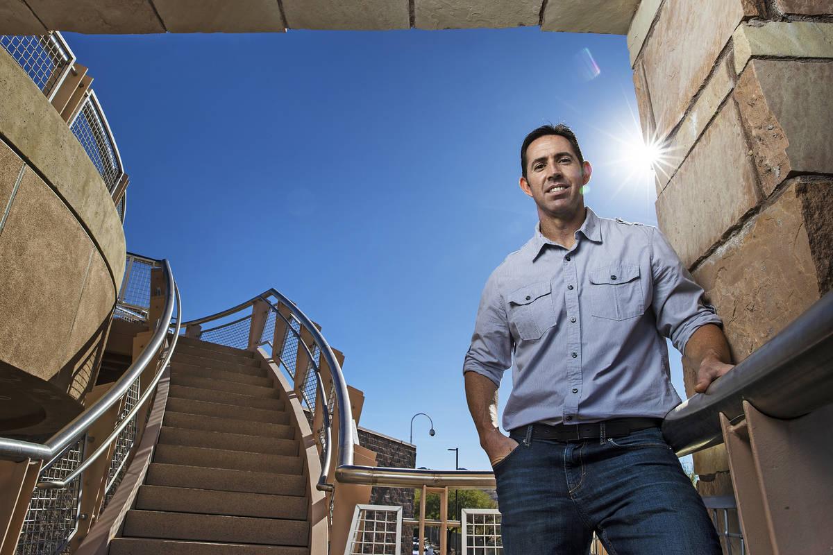 Daniel Gerrity, microbiólogo de la Southern Nevada Water Authority, el miércoles 18 de noviem ...