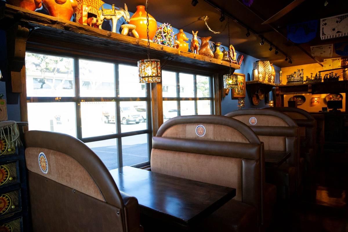 El remodelado Lindo Michoacán, ubicado en 2655 E Desert Inn Road, en Las Vegas, el miércoles ...