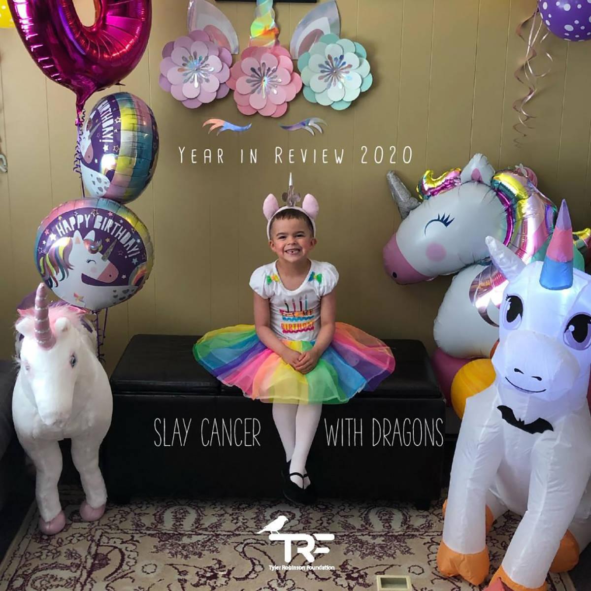 Imagine Dragons ayuda a niños como Sophie que sufren de cancer infantil al hacerles sus sueño ...