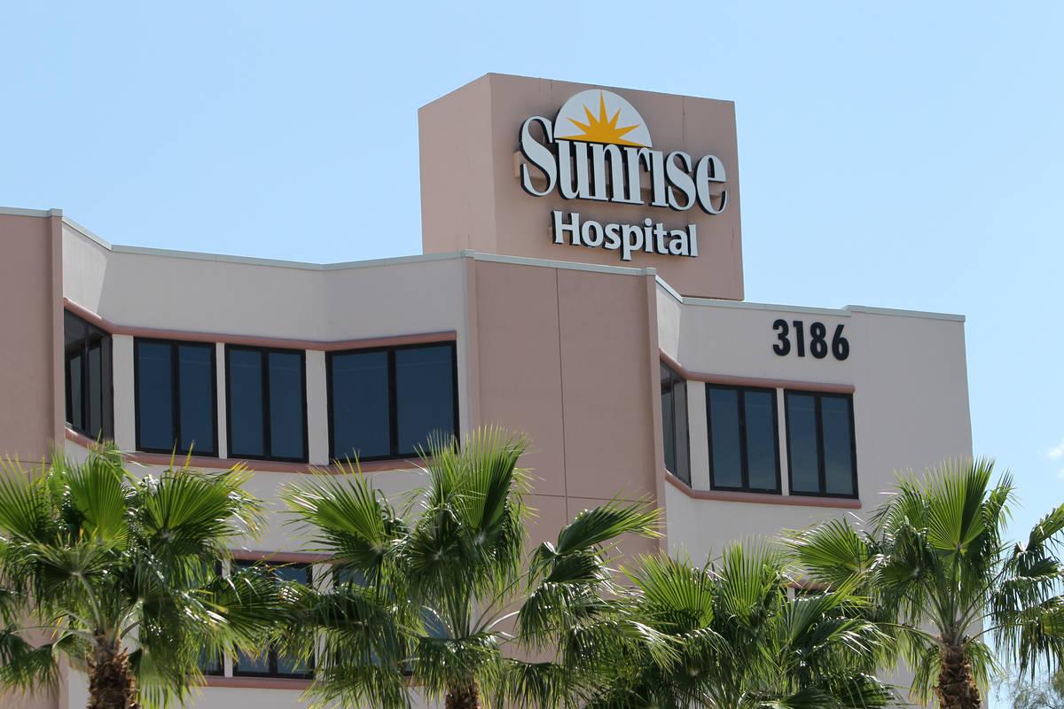 Hospital y Centro Médico Sunrise en Las Vegas. (Las Vegas Review-Journal)