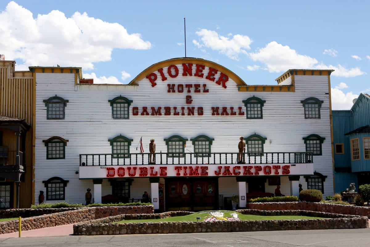 El hotel-casino Pioneer, visto en Laughlin en 2017. (Michael Quine Las Vegas Review-Journal)
