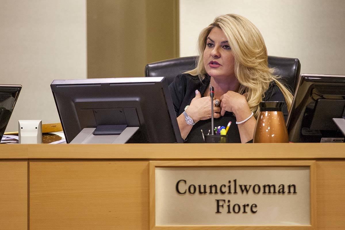 La concejal Michelle Fiore. (Las Vegas Review-Journal)