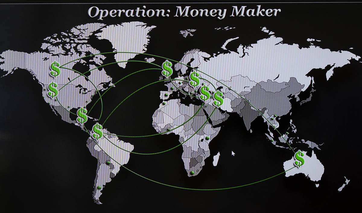 """Los países participantes en la """"Operación Money Maker"""", dirigida a una presunta conspiración ..."""