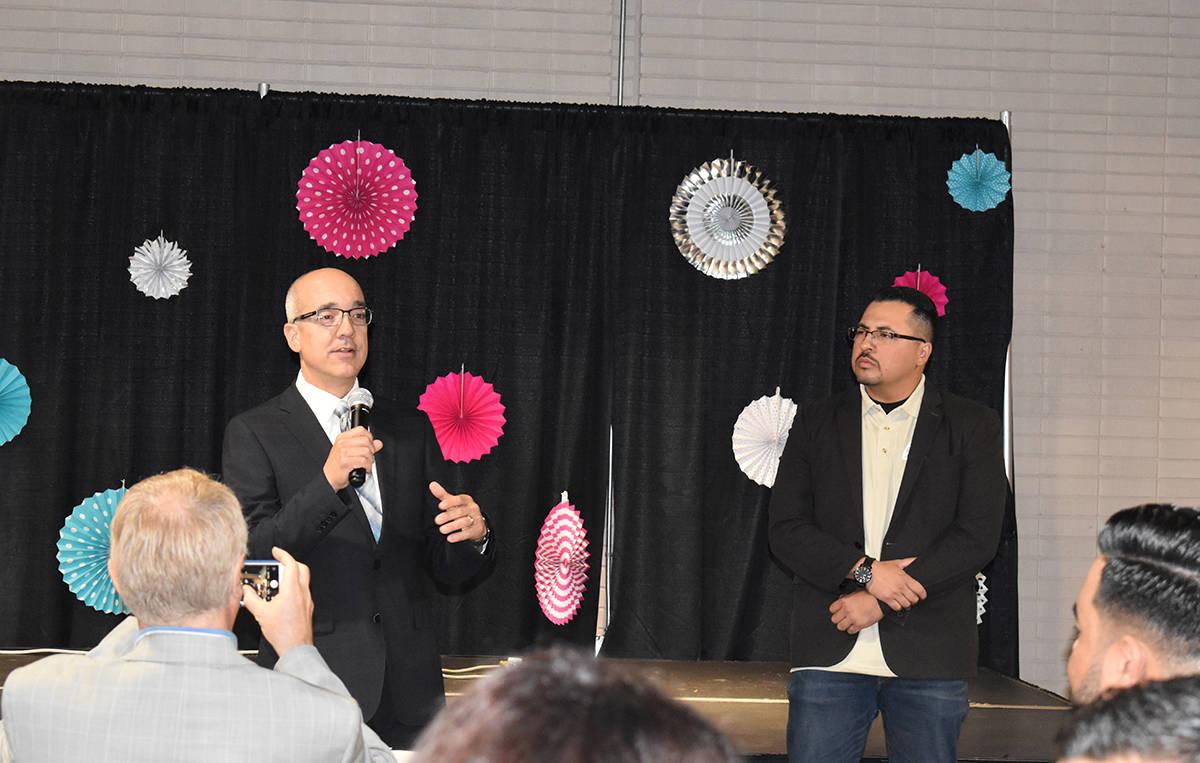 El senador Moisés Denis y el asambleísta Edgar Flores hablaron sobre lo que se logró pasar e ...