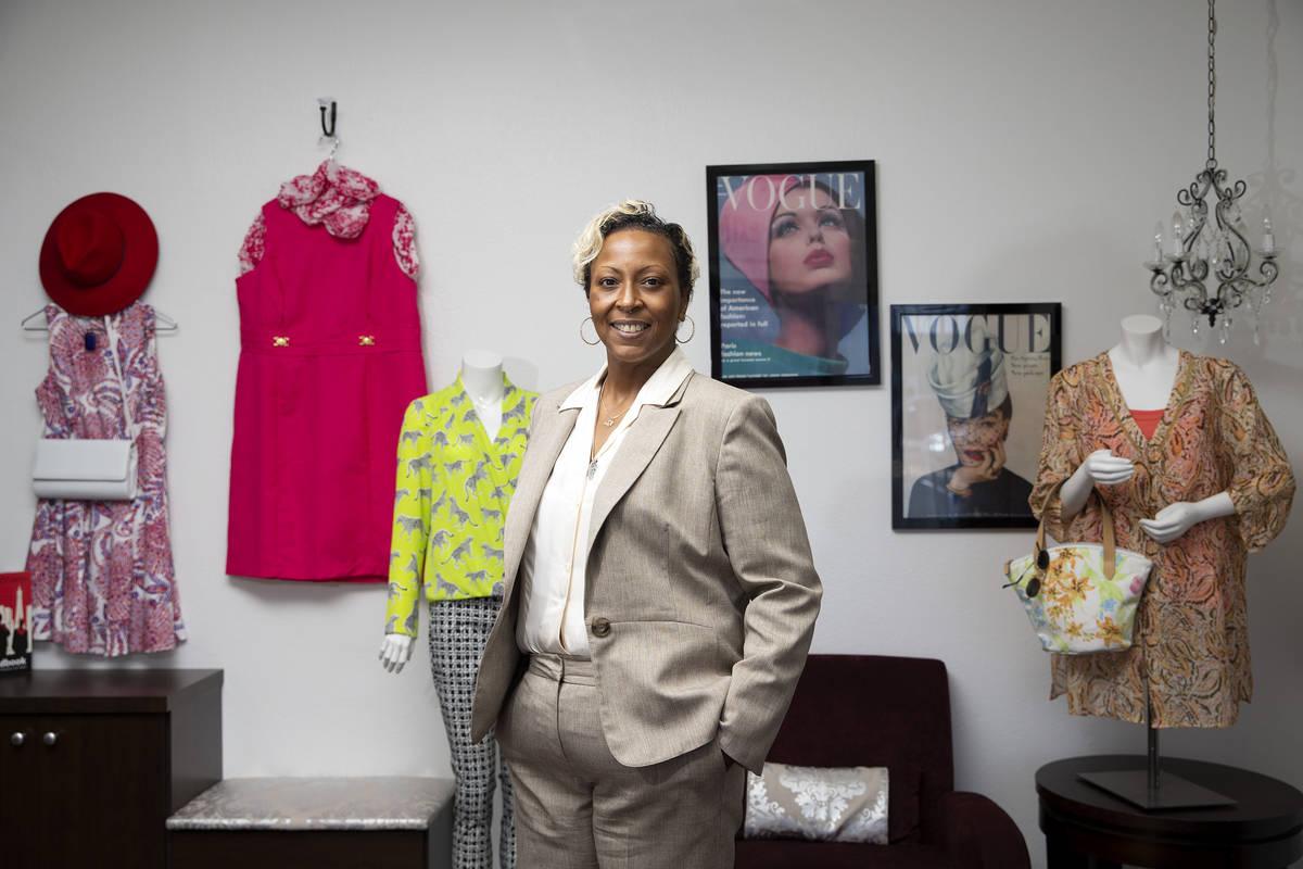 Kenya Mills, clienta de Dress for Success, en la organización sin fin de lucro Dress for Succe ...