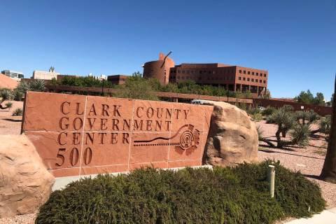 Clark County Government Center. (Las Vegas Review-Journal)