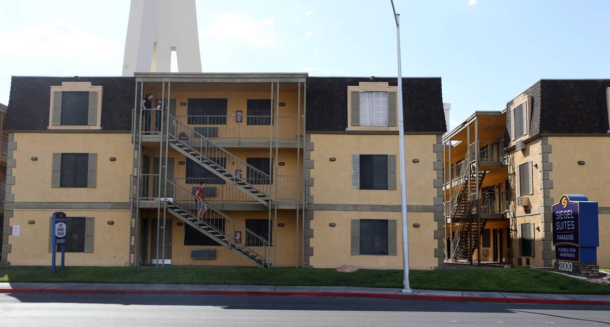 Siegel Suites Paradise en Las Vegas el martes, 20 de julio de 2021. (K.M. Cannon/Las Vegas Revi ...