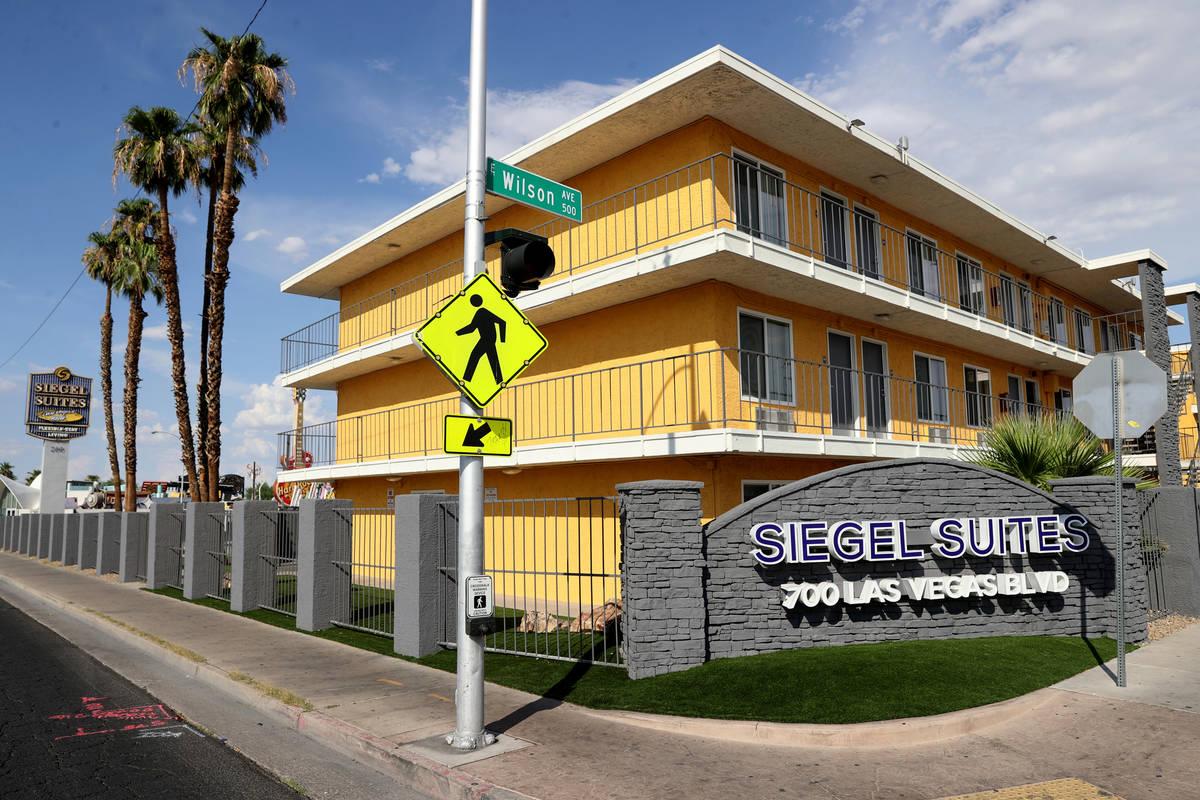 Siegel Suites Las Vegas Boulevard en Las Vegas el martes, 20 de julio de 2021. (K.M. Cannon/Las ...