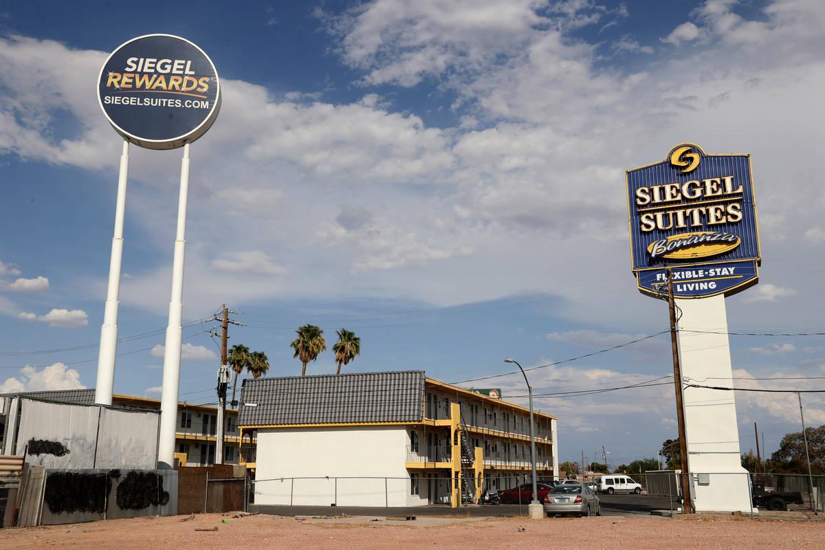 Siegel Suites Bonanza en Las Vegas el martes, 20 de julio de 2021. (K.M. Cannon/Las Vegas Revie ...