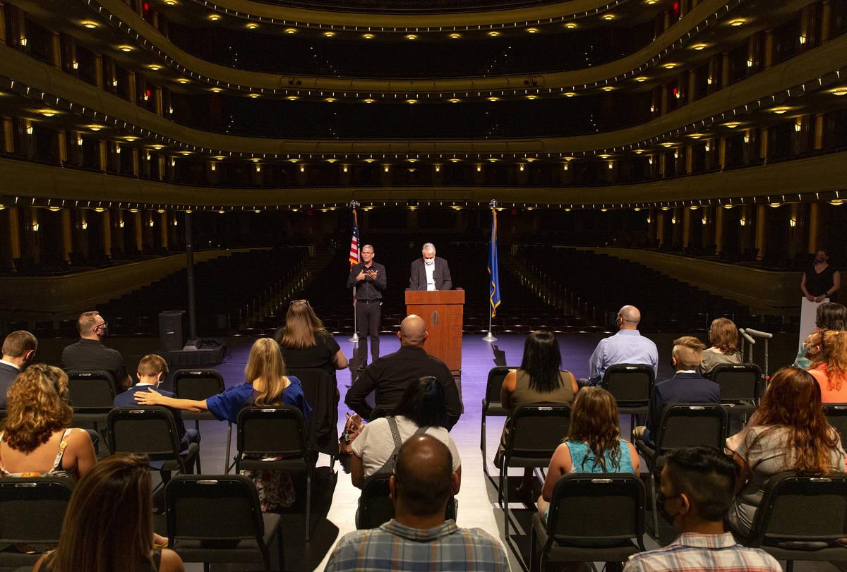 """El gobernador Steve Sisolak e Immunize Nevada anuncian los ganadores de la tercera ronda de """"Va ..."""