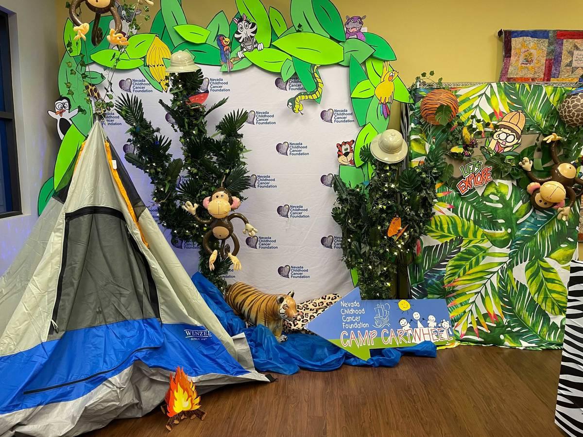 """El tema del Camp Cartwheel 2021, """"Rumble in the Jungle"""", es el fondo de las sesiones virtuales. ..."""